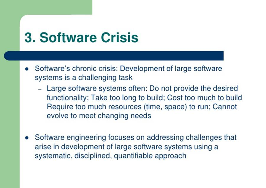Why Software Crisis – Let's know What is it? – Movingtrend