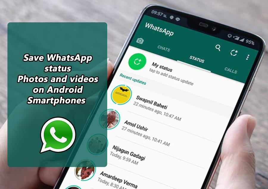 Save WhatsApp Status Photos and Videos on Android Smartphones - Movingtrend
