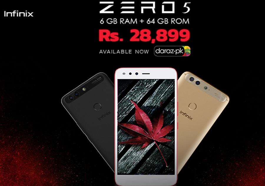 Infinix Launches: Infinix Zero 5 exclusively Available on Daraz.PK – Movingtrend