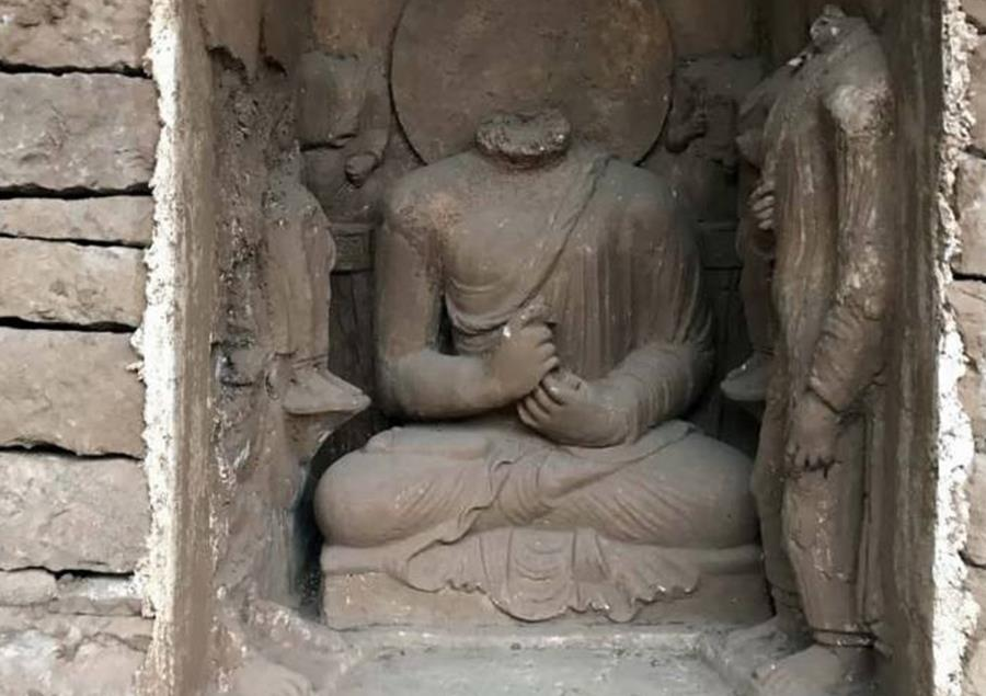 World Oldest Sleeping Buddha Statue Unearthed in Haripur District – Movingtrend