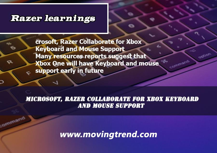 Microsoft, Razer Collaborate for Xbox Keyboard and Mouse Support – Movingtrend